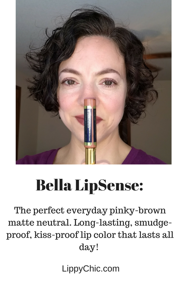Bella LipSense: why you need this perfect neutral matte lip color!
