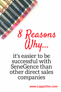 8 reasons why it's easier to be successful with SeneGence than other direct sales companies