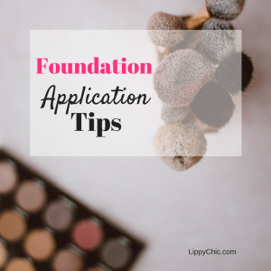 Foundation application tips