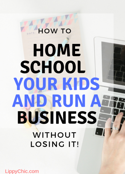 How to Homeschool and Run a Business