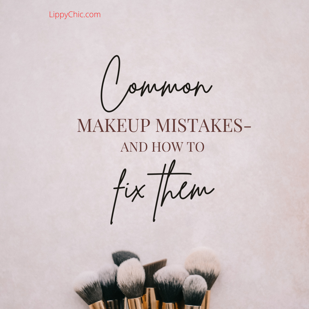 common makeup mistakes