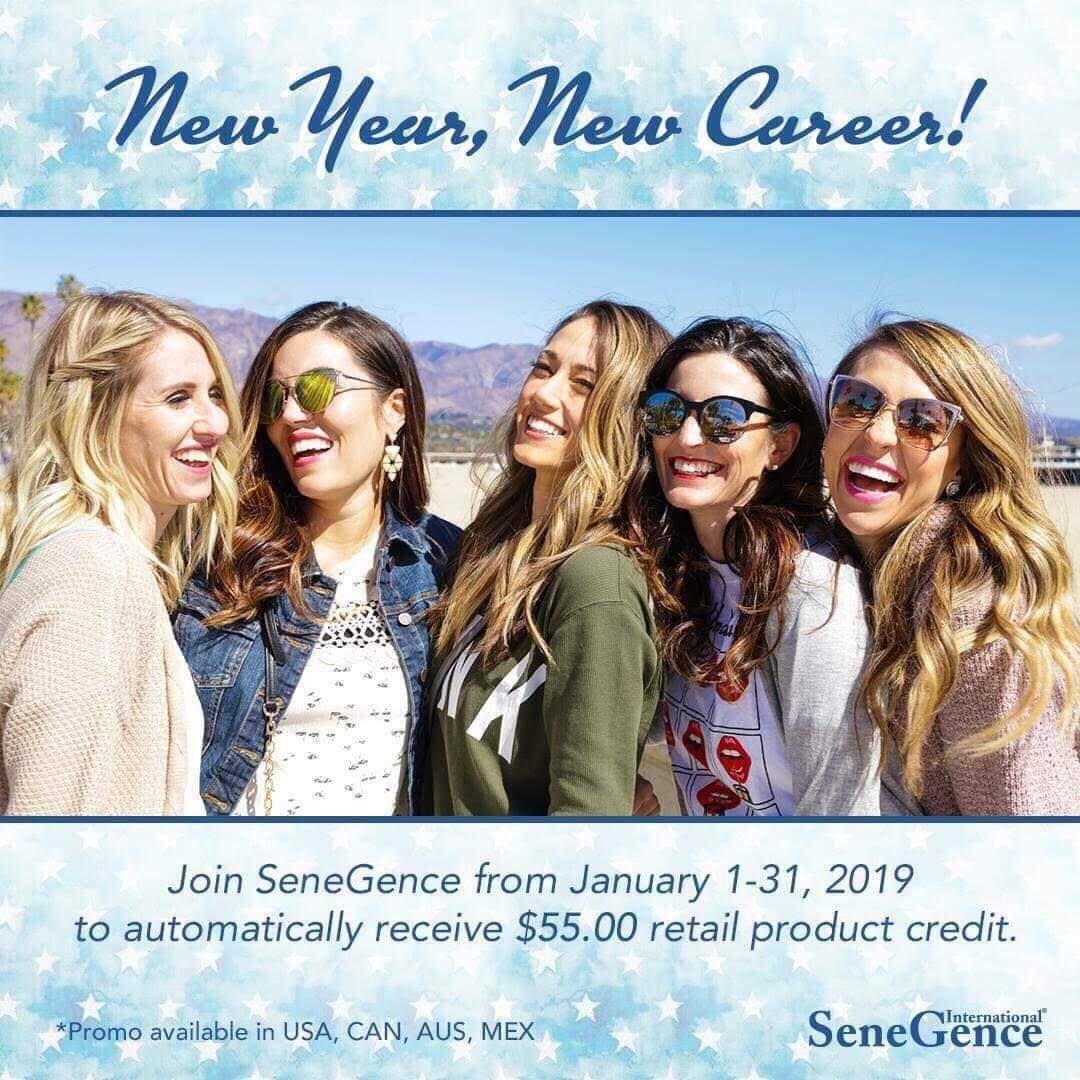 free SeneGence sign up