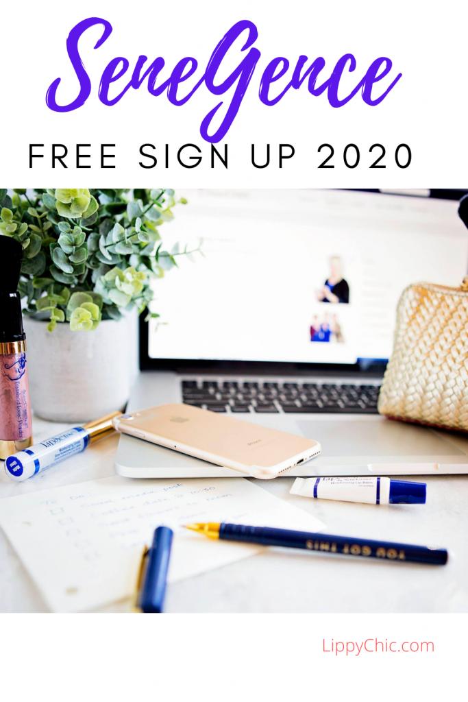 SeneGence Free Sign Up 2020