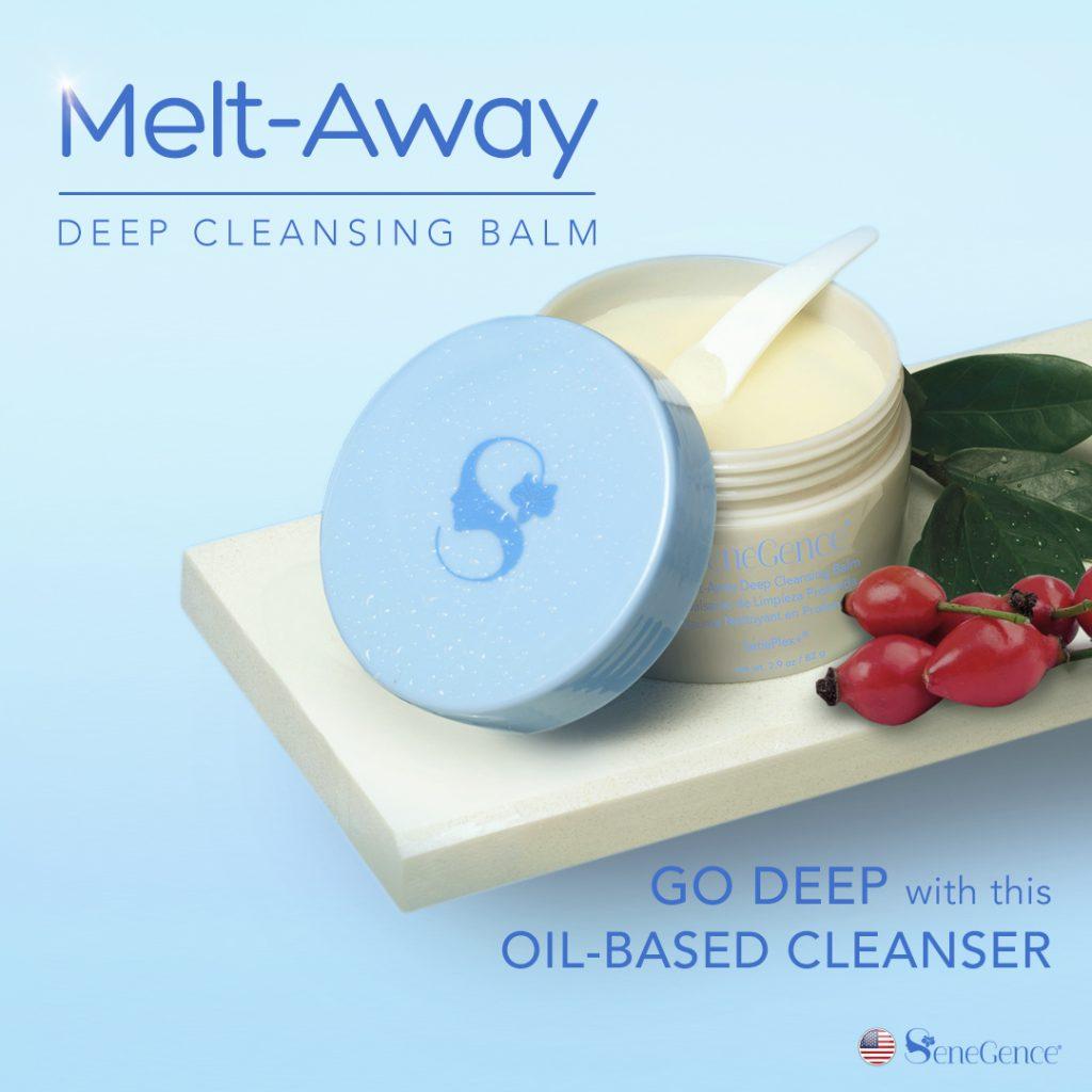 SeneGence new releases: MeltAway deep cleansing balm